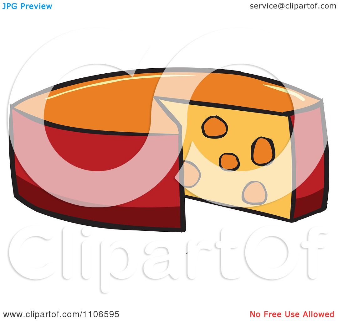 Cheese Wheel Clip Art : Cheese wheel drawing