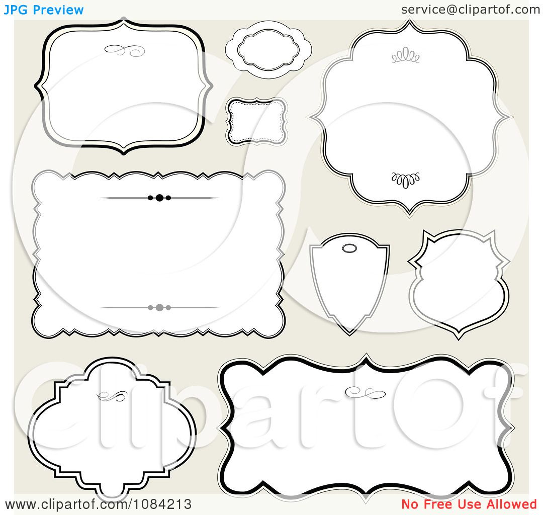 clipart white black frames on gray royalty free vector illustration by bestvector
