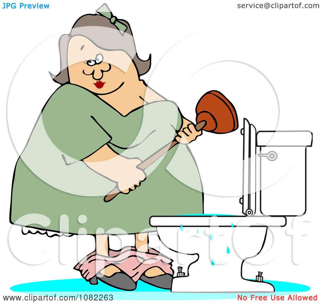 clipart overflowing toilet - photo #23