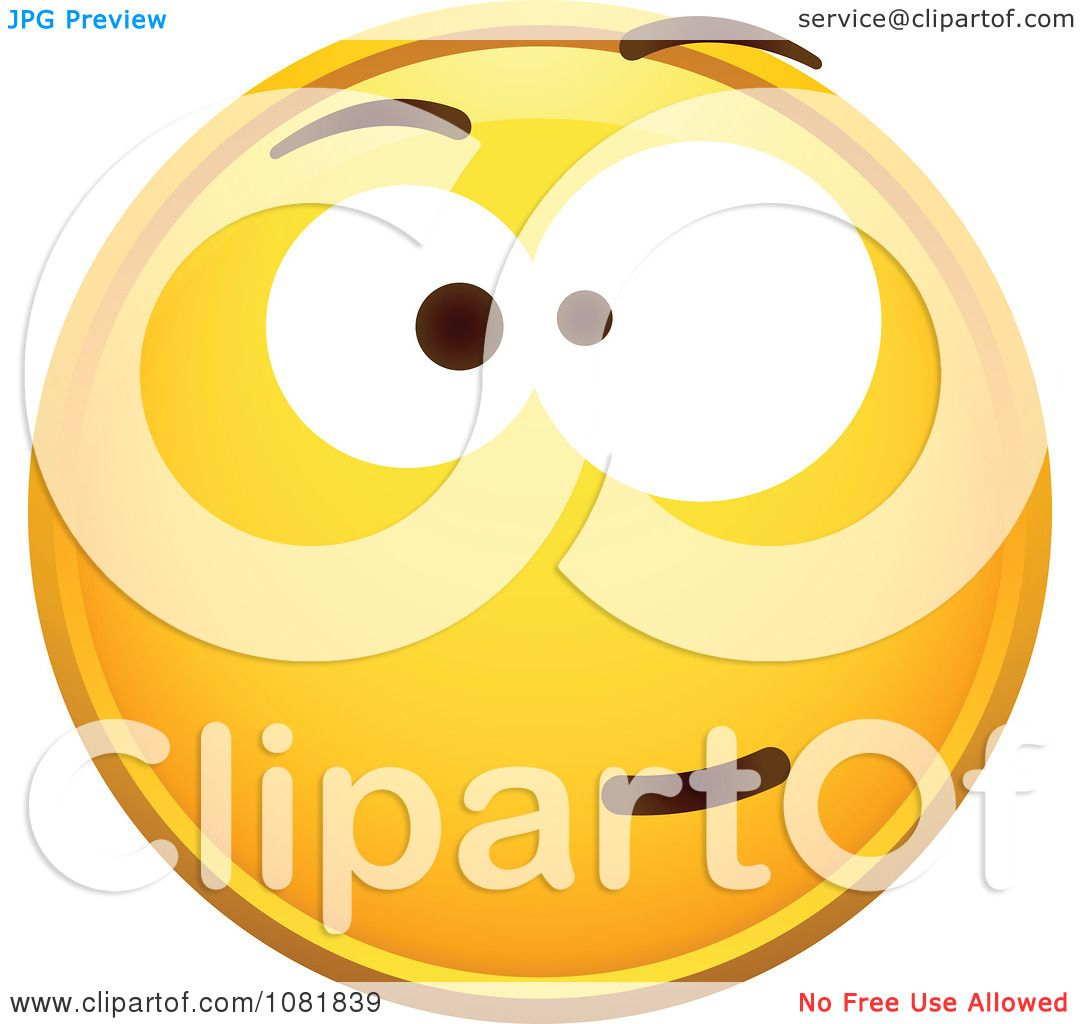Image Gallery skeptical smiley face