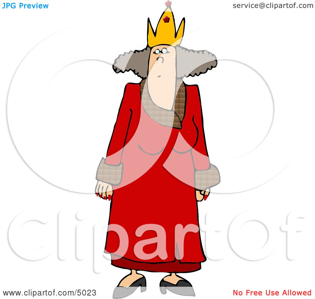 Red Queen Crown Clip Art Clipart of a crowned womanRed Queen Crown Clip Art