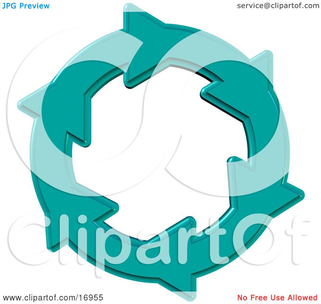 environmental clipart illustration image of a blue circle of water rh clipartof com Cartoon Environment Save the Environment