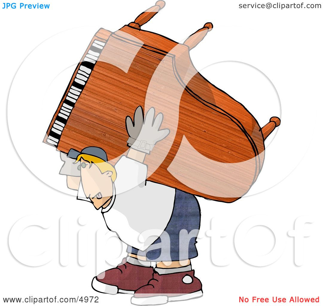 Hands Playing Piano Clip Art Clipart of a exaggeration of a