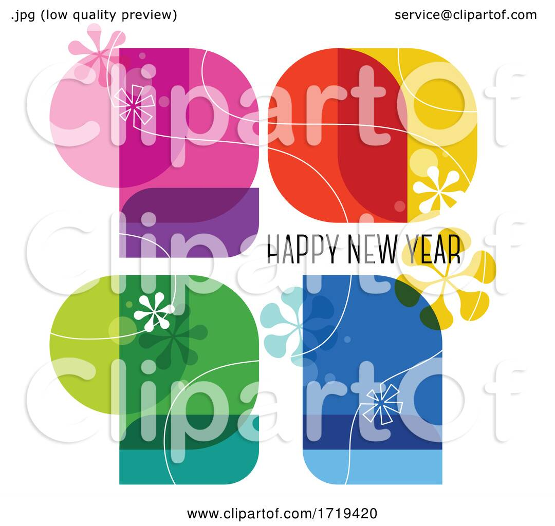 Happy New Year 2021 Greeting by elena #1719420