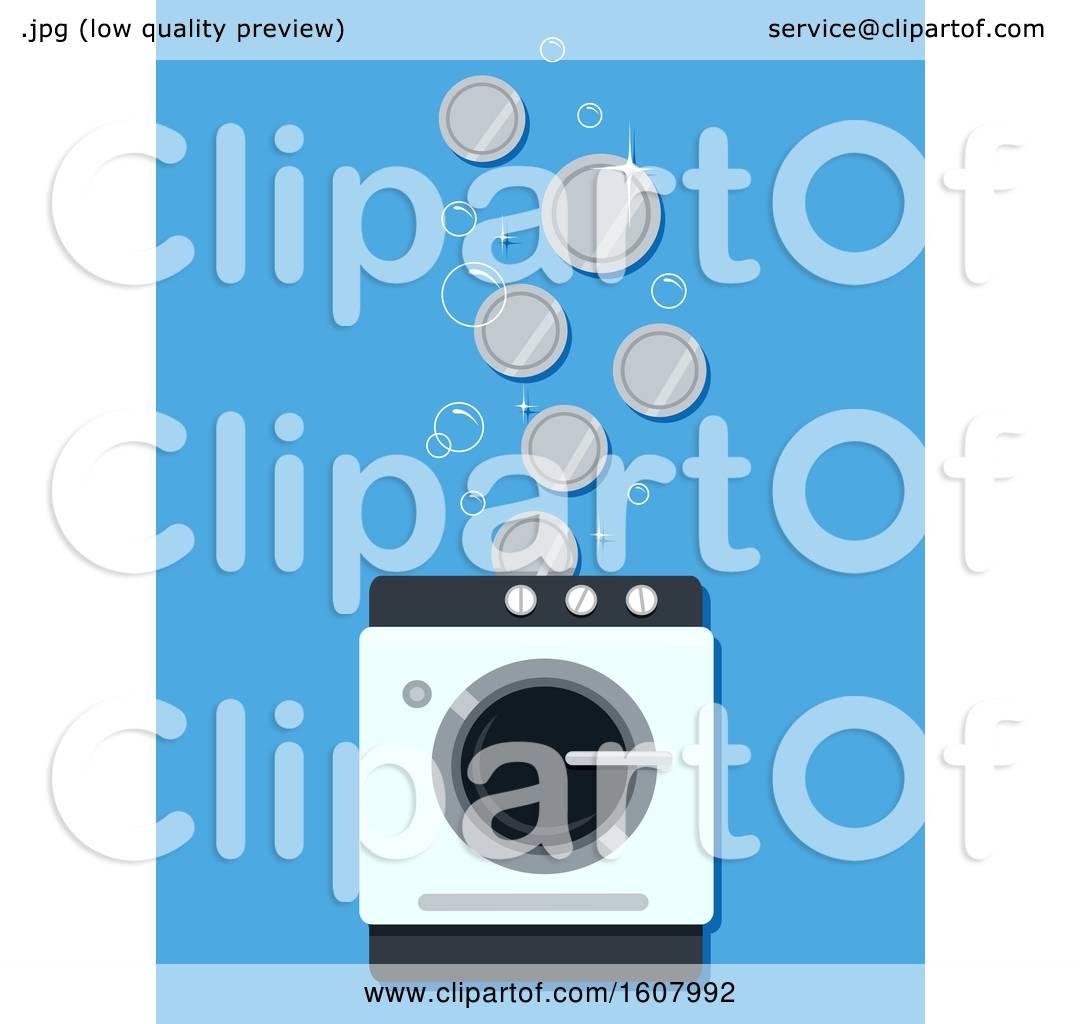 Laundry Business Coins Illustration by BNP Design Studio #1607992