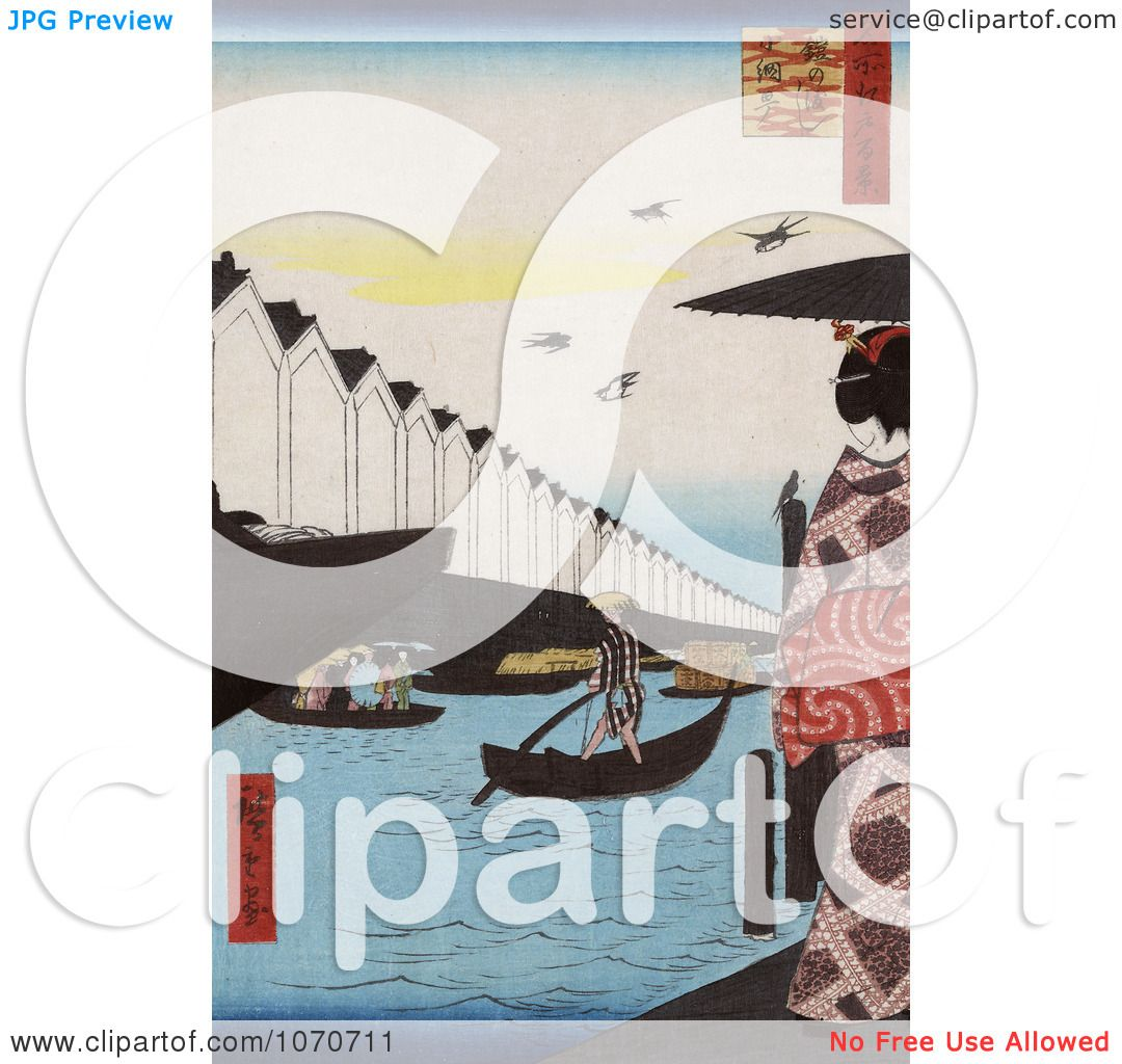 ... District - Royatly Free Historical Stock Illustration by JVPD #1070711: www.clipartof.com/portfolio/jvpd/illustration/man-rowing-a-boat...