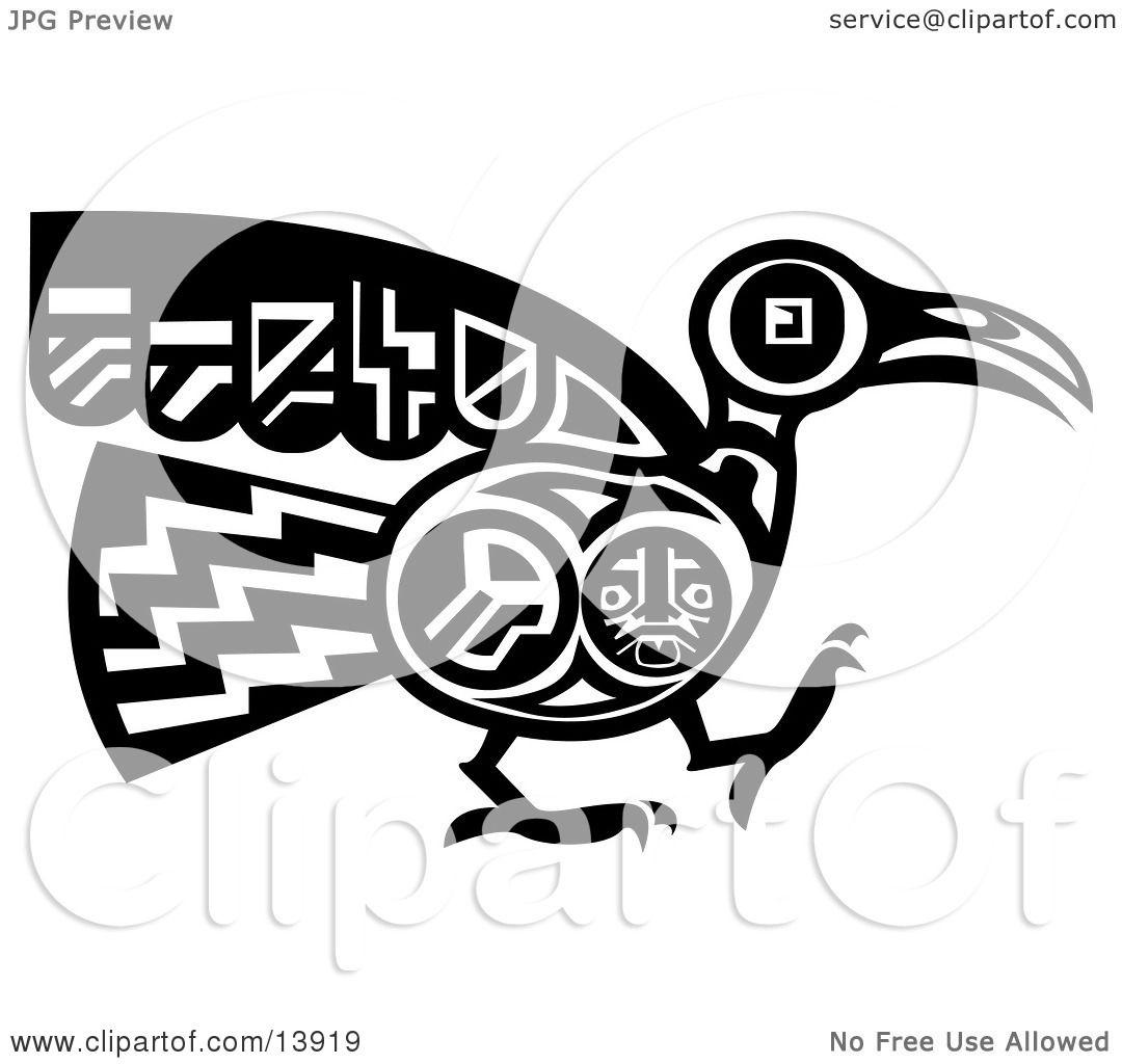 ... -Bird-Design-In-Black-And-White-Clipart-Illustration-102413919.jpg