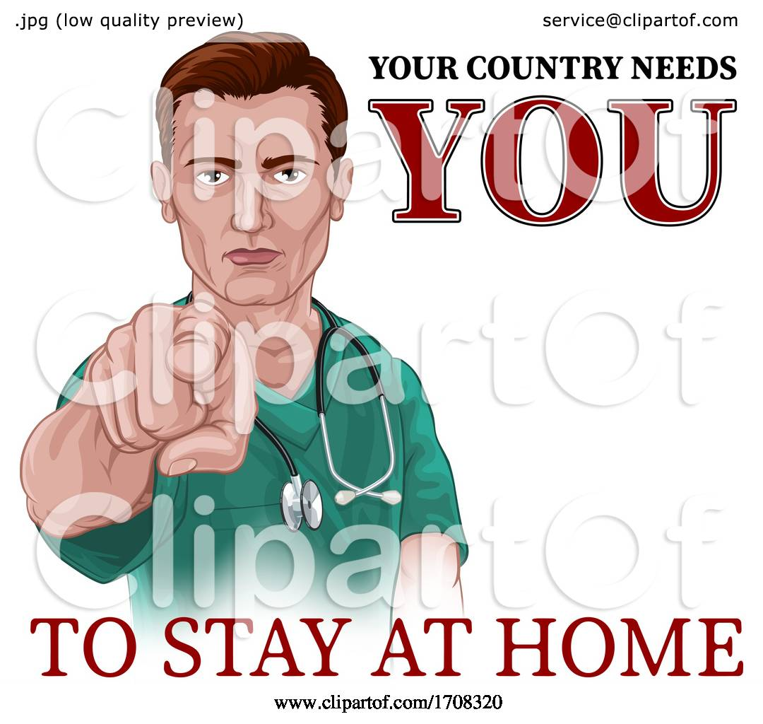 Nurse Doctor Pointing Your Country Needs You by ...