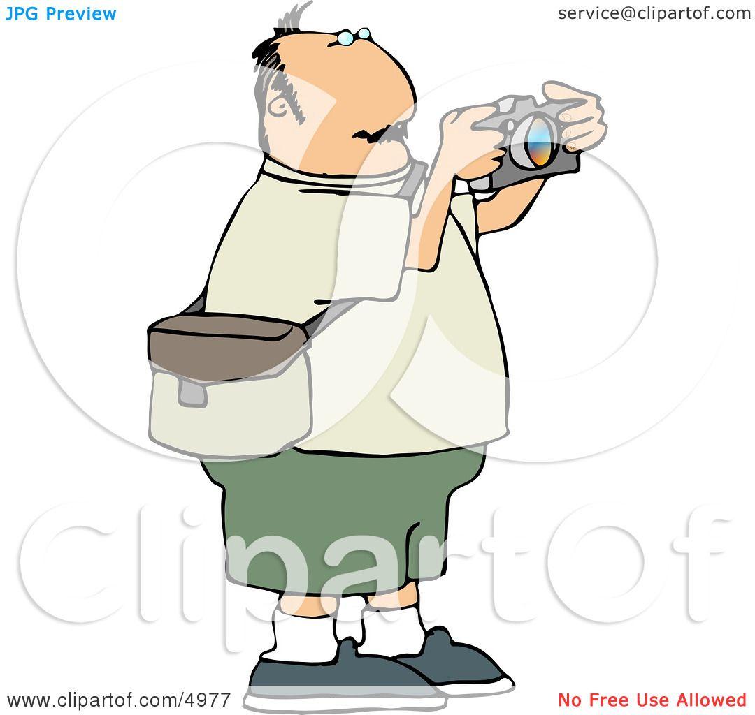 Overweight Man ...