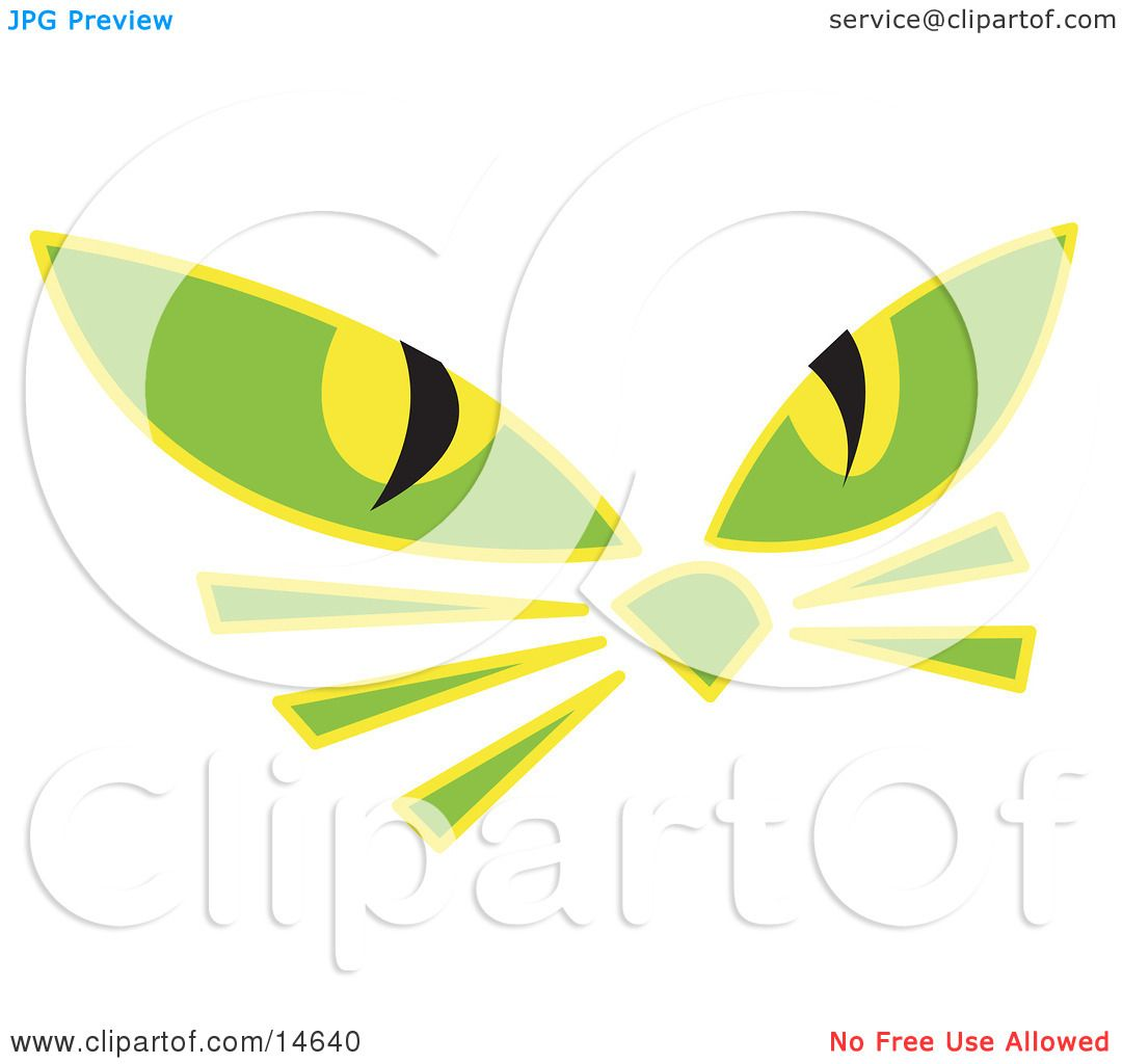 Cat Eyes Clip Art