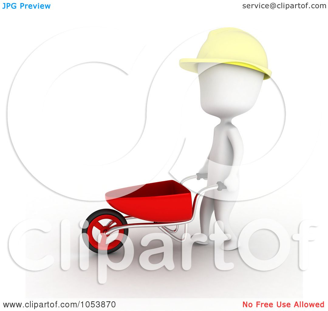 Royalty Free 3d Clip Art Illustration Of A 3d Ivory White