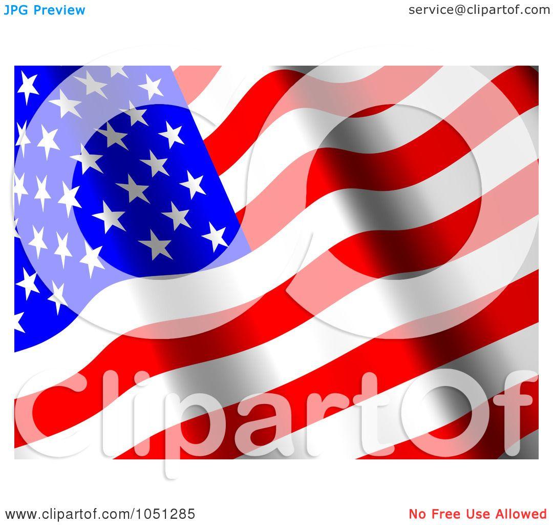 royalty free 3d clip art illustration of a 3d waving american flag rh clipartof com waving american flag clip art animated waving american flag clip art moving