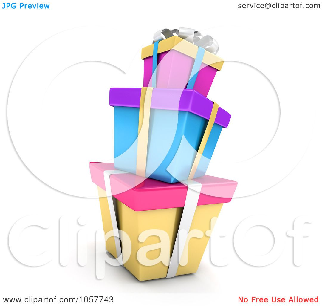 Royalty Free Cgi Clip Art Illustration Of A 3d Stack Of