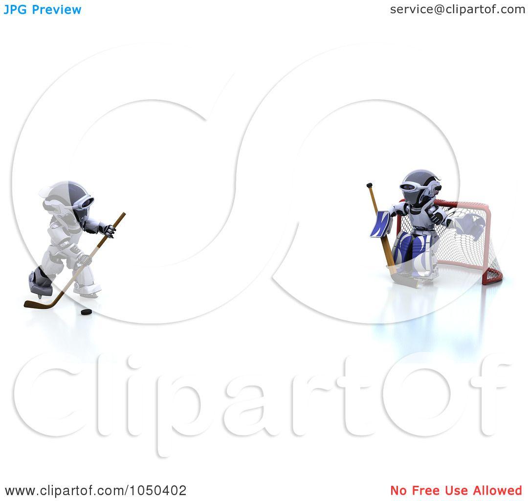 Hockey Net Clip...