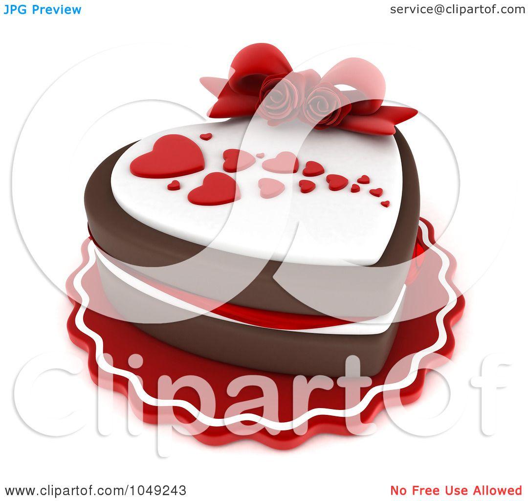 Royalty Free Rf Clip Art Illustration Of A 3d Heart
