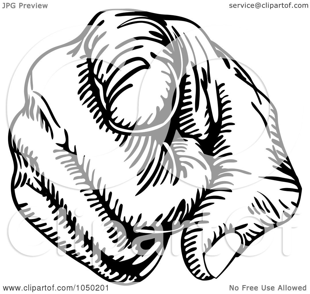 Royalty-Free (RF) Clip Art Illustration of a Black And White ...