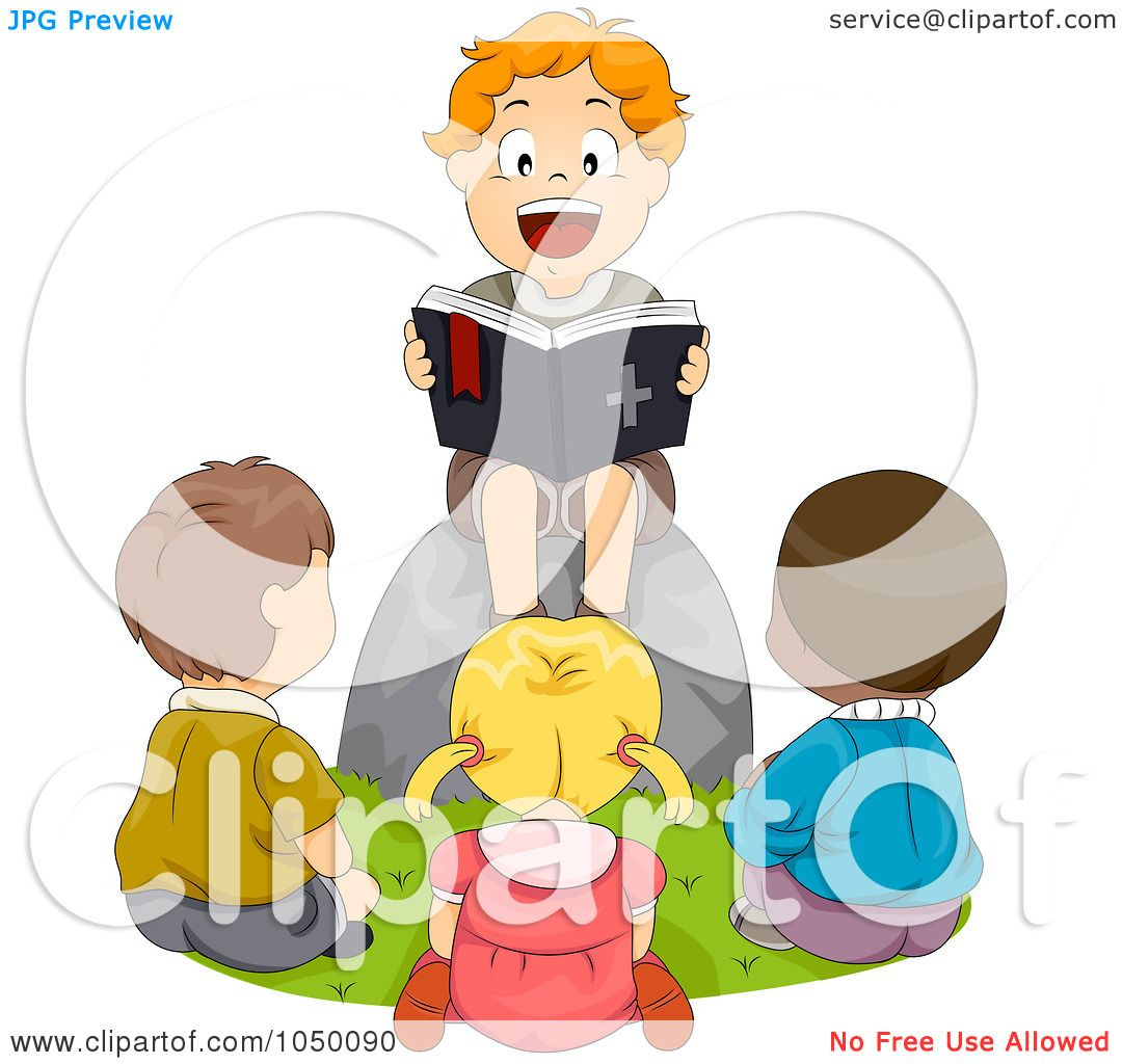 friends reading clipart
