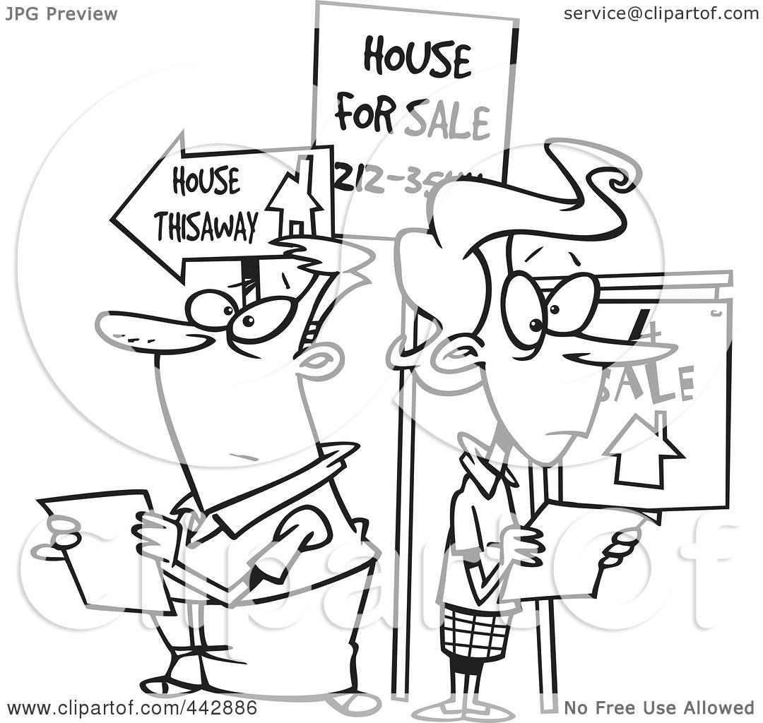 house hunting clipart - photo #21