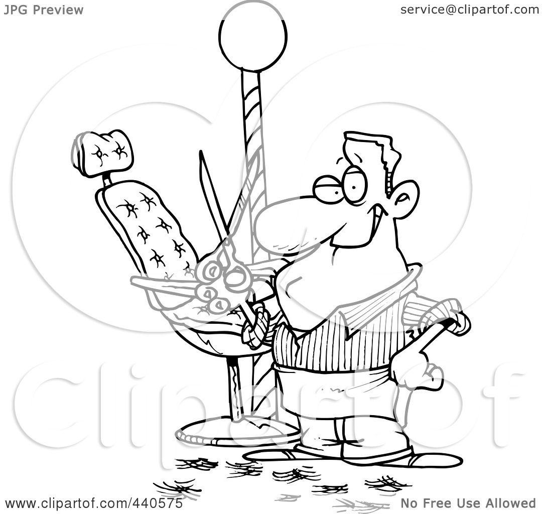 Barber Clipart Royalty-Free  RF  Clip Art