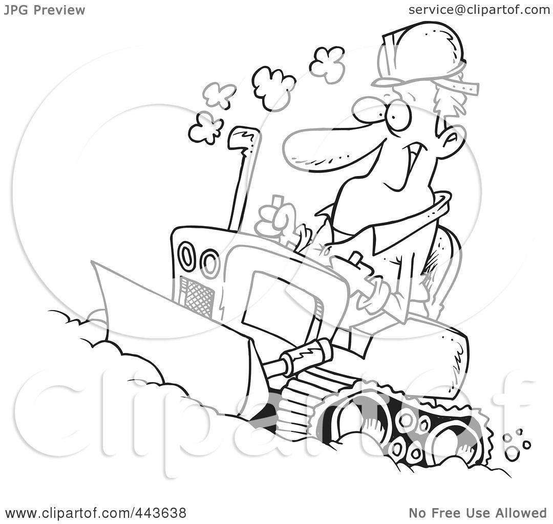 royalty free rf clip art illustration of a cartoon black and white outline design of a man. Black Bedroom Furniture Sets. Home Design Ideas