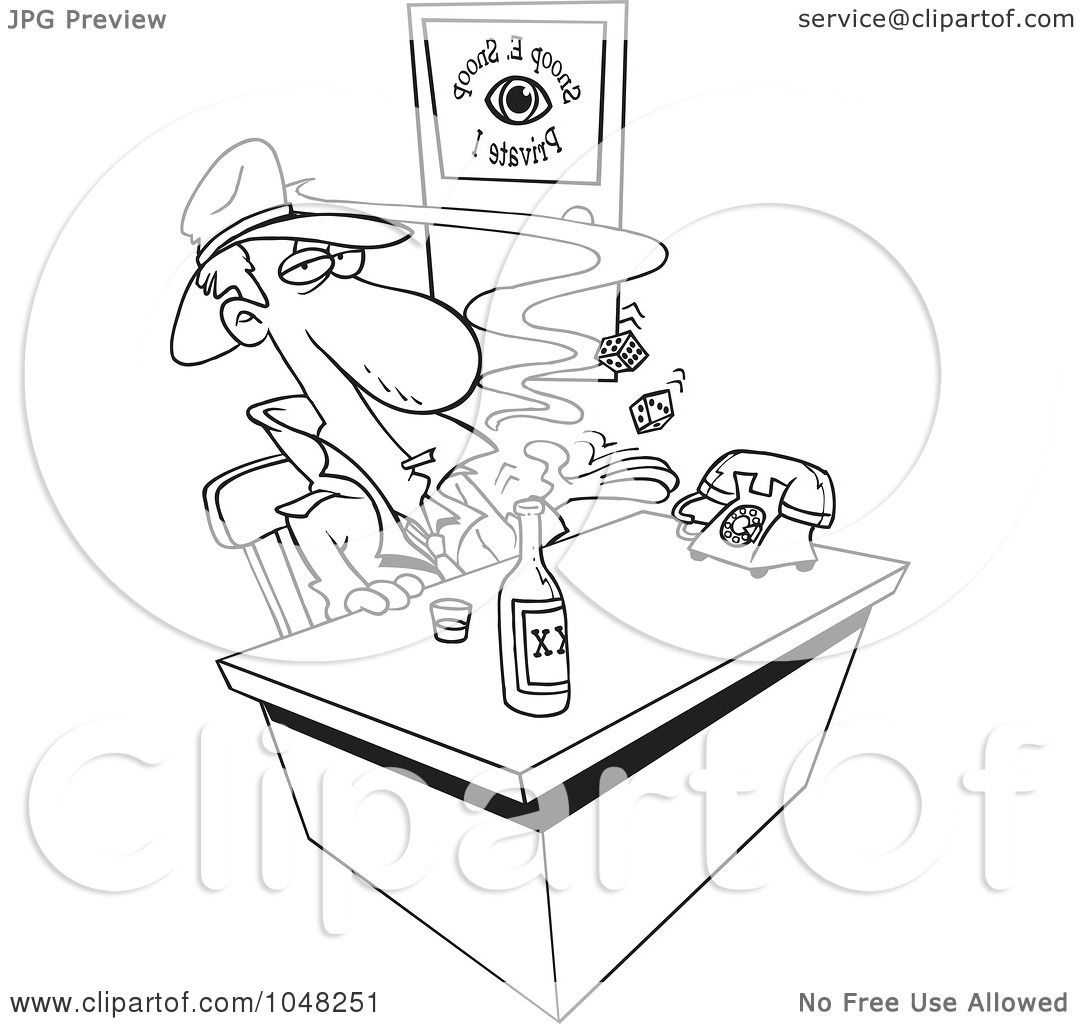 snoop dogg coloring pages | Royalty-Free (RF) Clip Art Illustration of a Cartoon Black ...