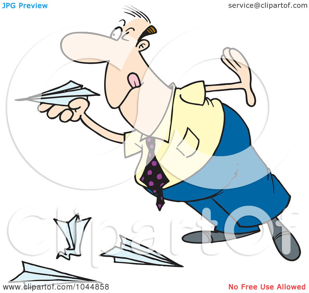 Clip Art Paper Airplane Royalty-free (rf) clip art