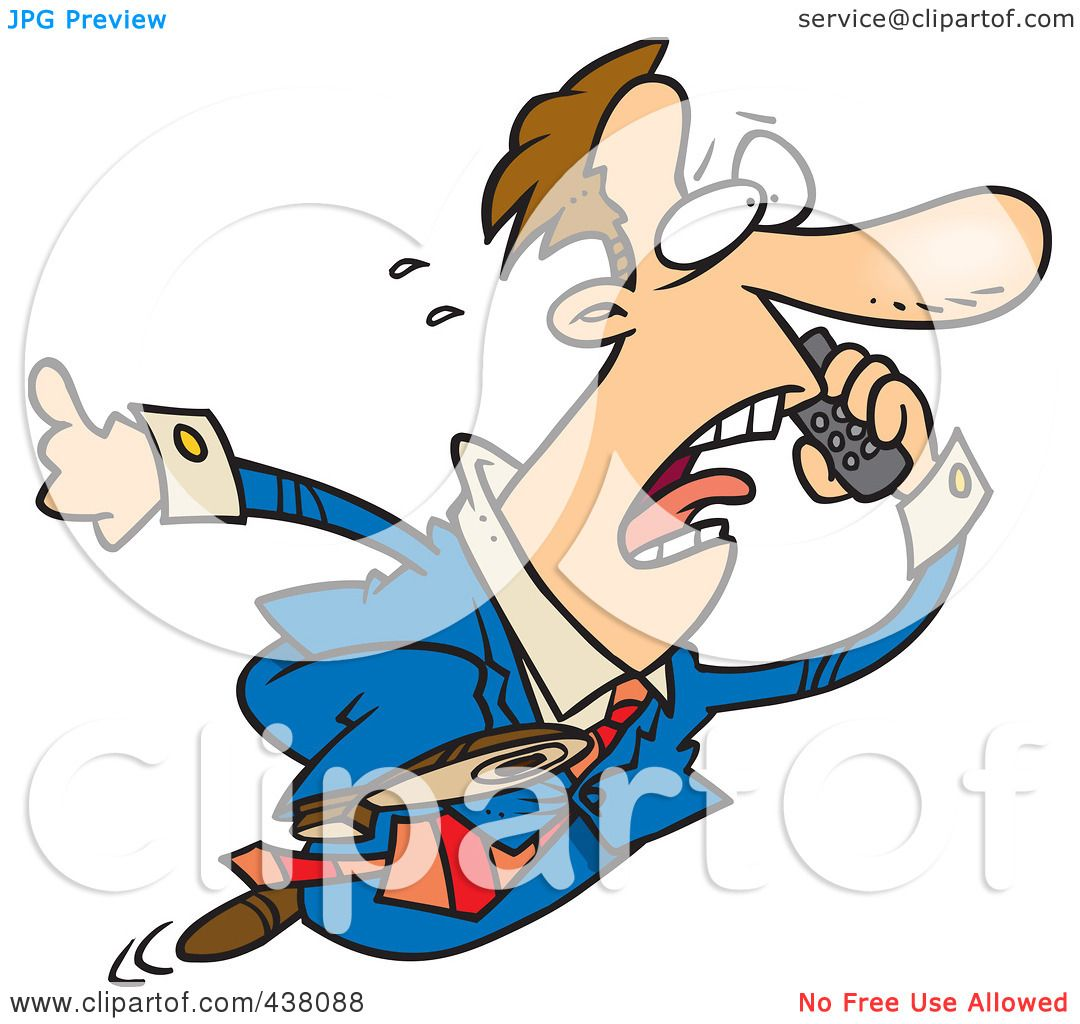 royalty free rf clip art illustration of a cartoon businessman rh clipartof com  no talking in class clipart