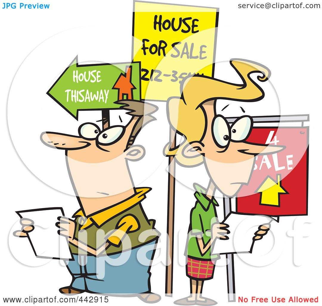 house hunting clipart - photo #8