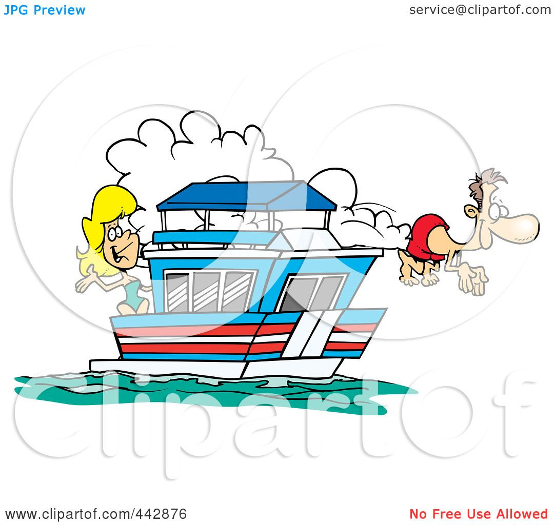houseboat clipart - photo #41