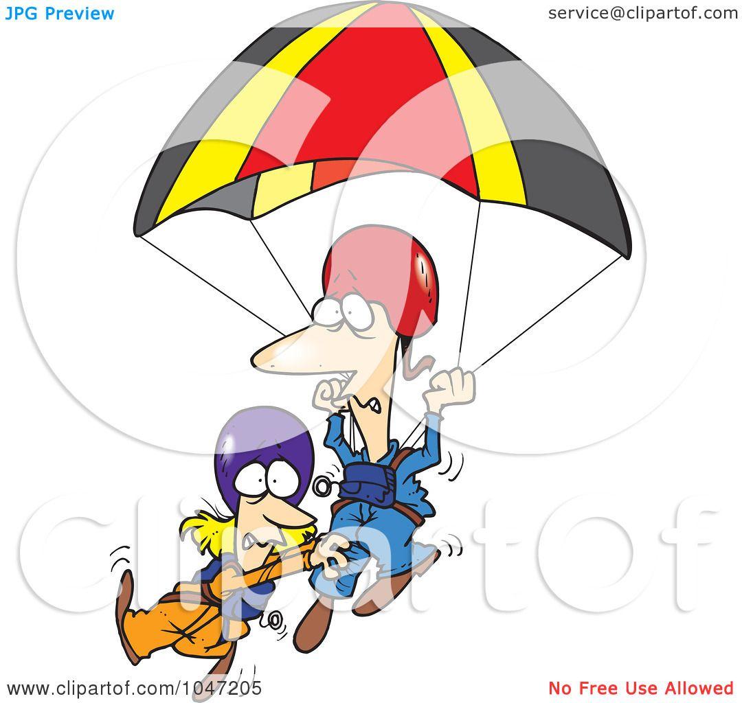 cartoon clipart parachute - photo #39