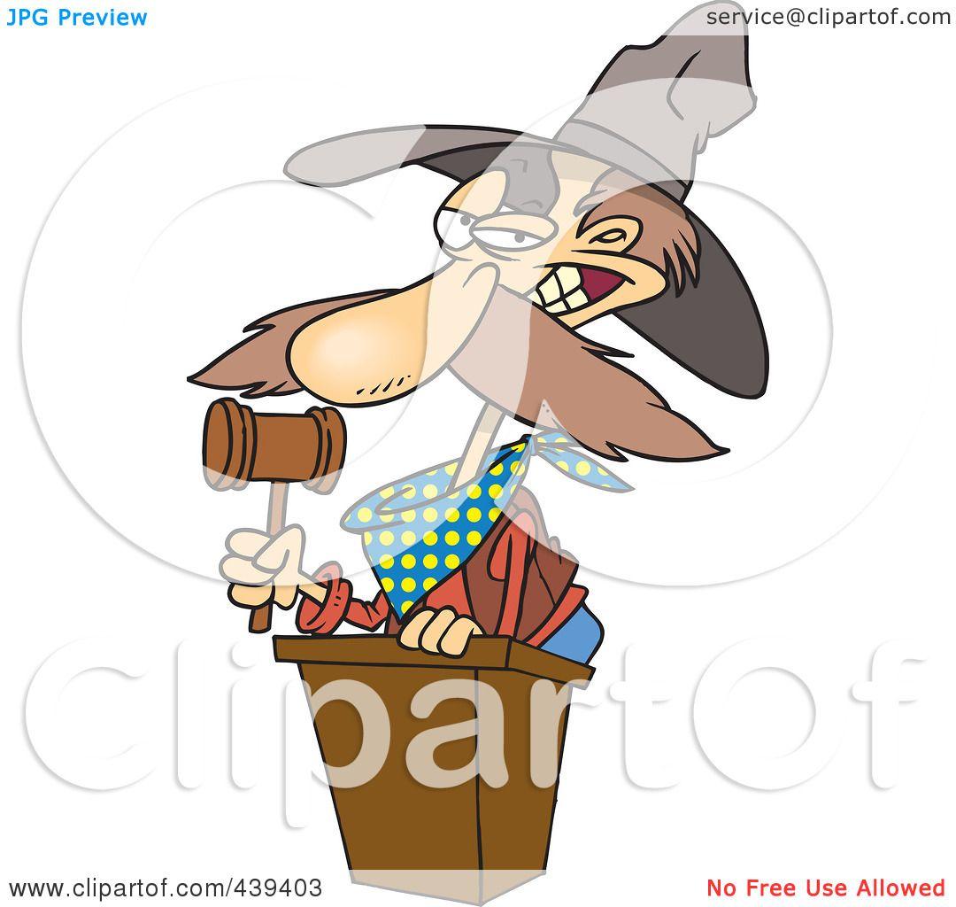 Royalty-Free (RF) Clip Art Illustration of a Cartoon Cowboy ...