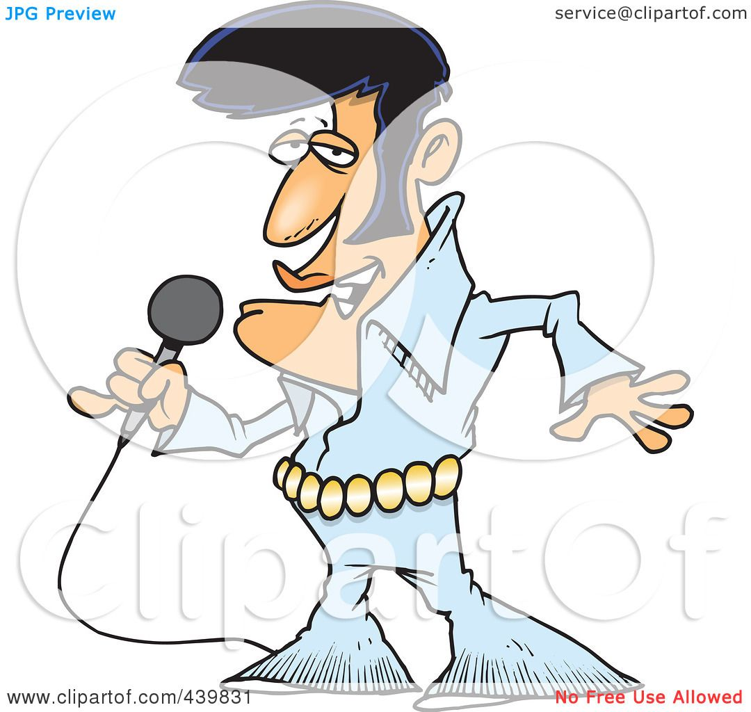 Royalty-Free (R... Elvis Clipart Graphics Free