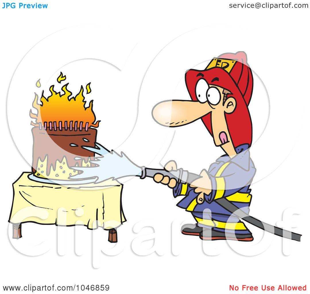 Royalty-Free (RF) Clip Art Illustration Of A Cartoon