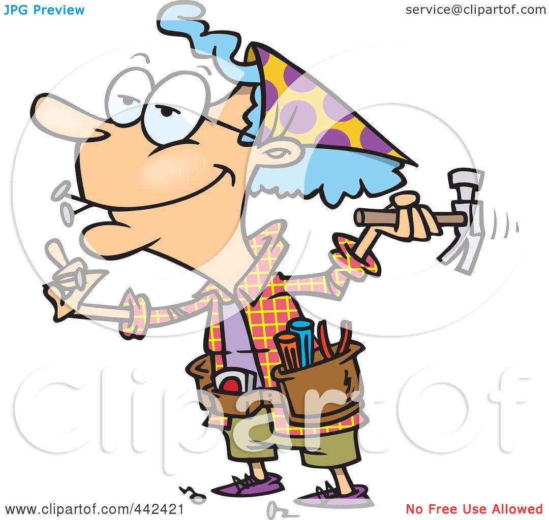 funny granny clipart - photo #8