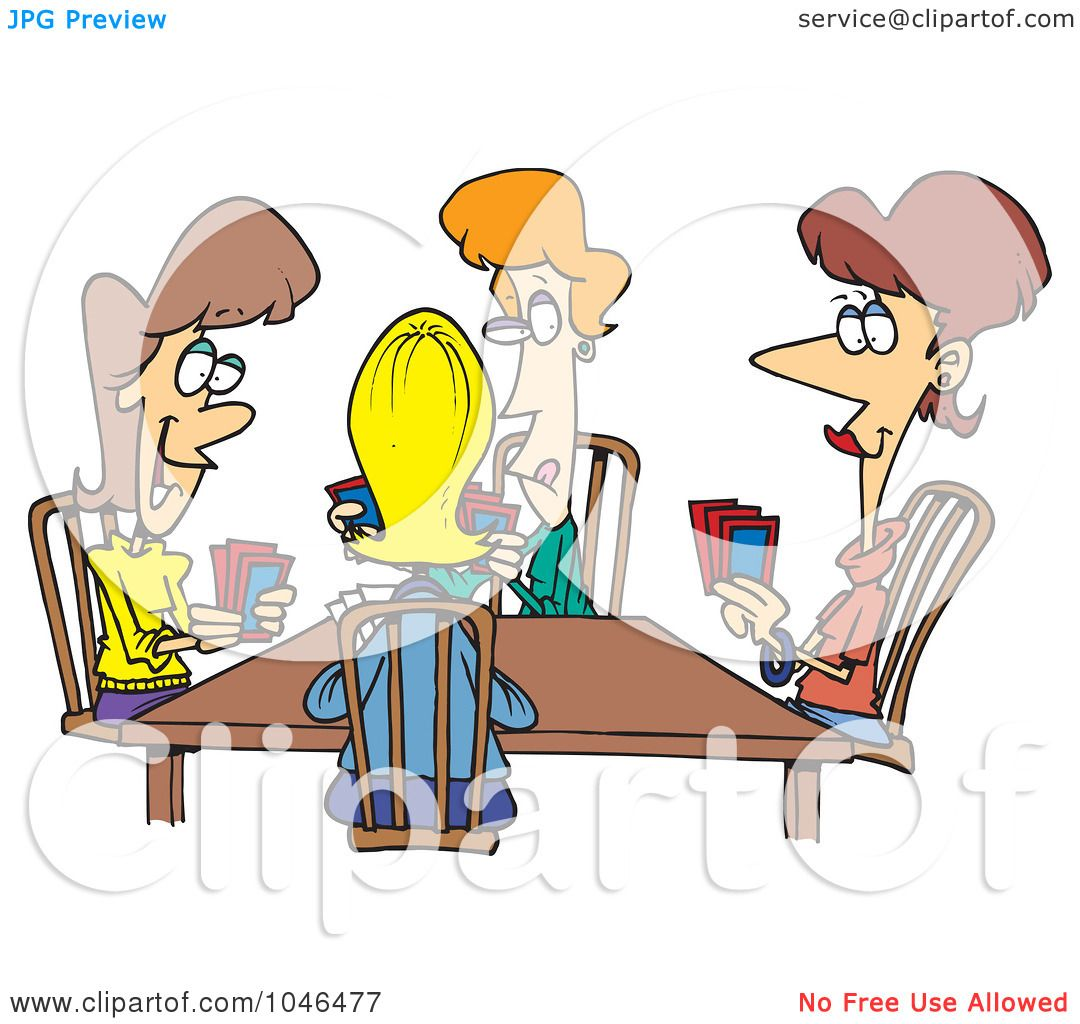 Playing Card Cartoon Clipart