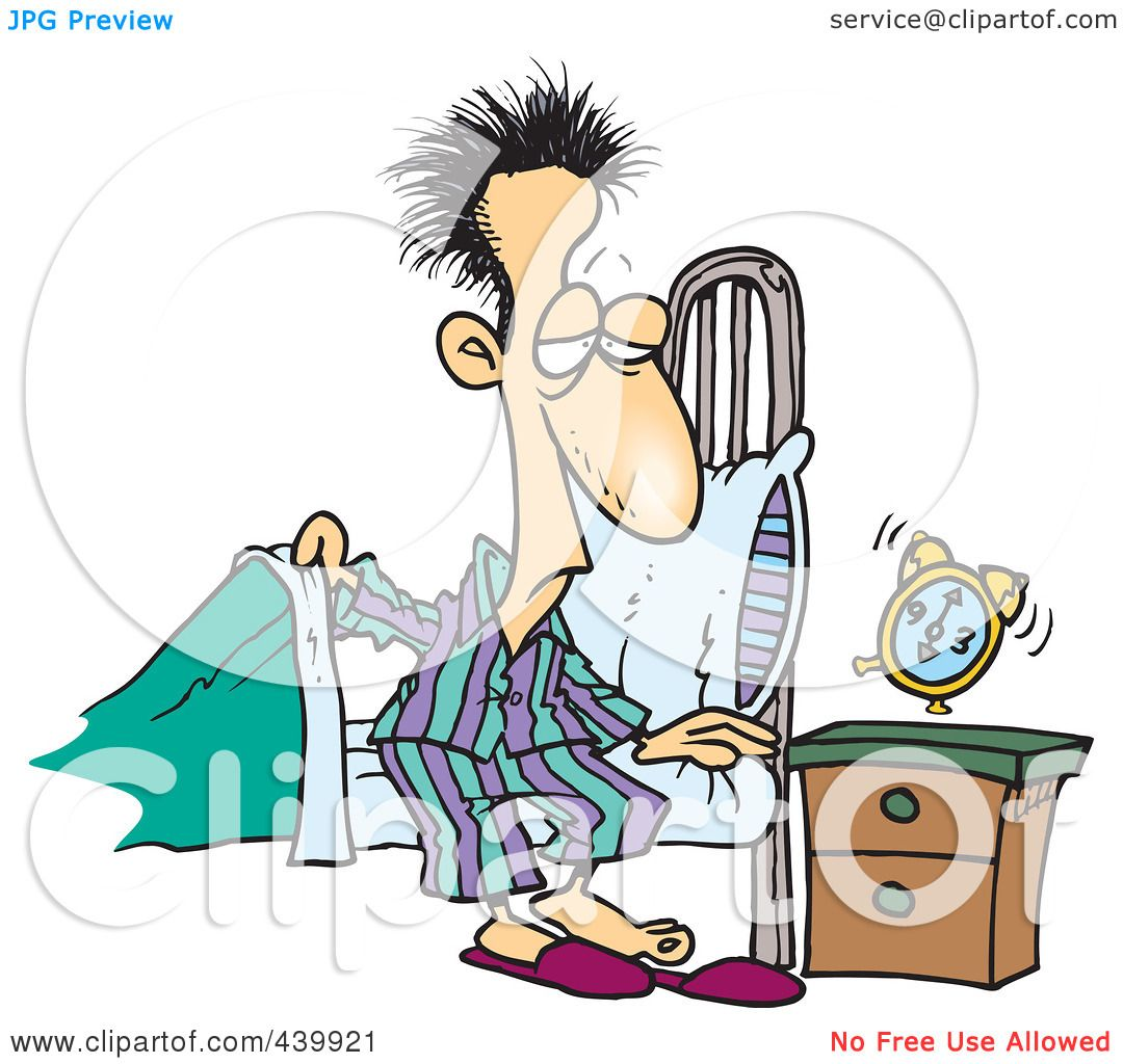 clipart of a girl waking up - photo #44