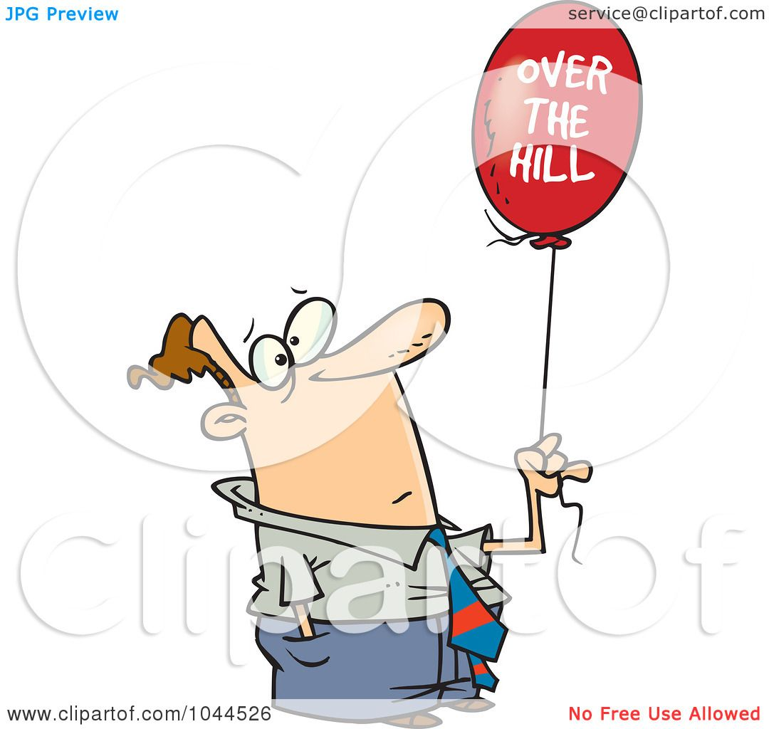 Displaying 20> Images For - Over The Hill 50 Clipart...