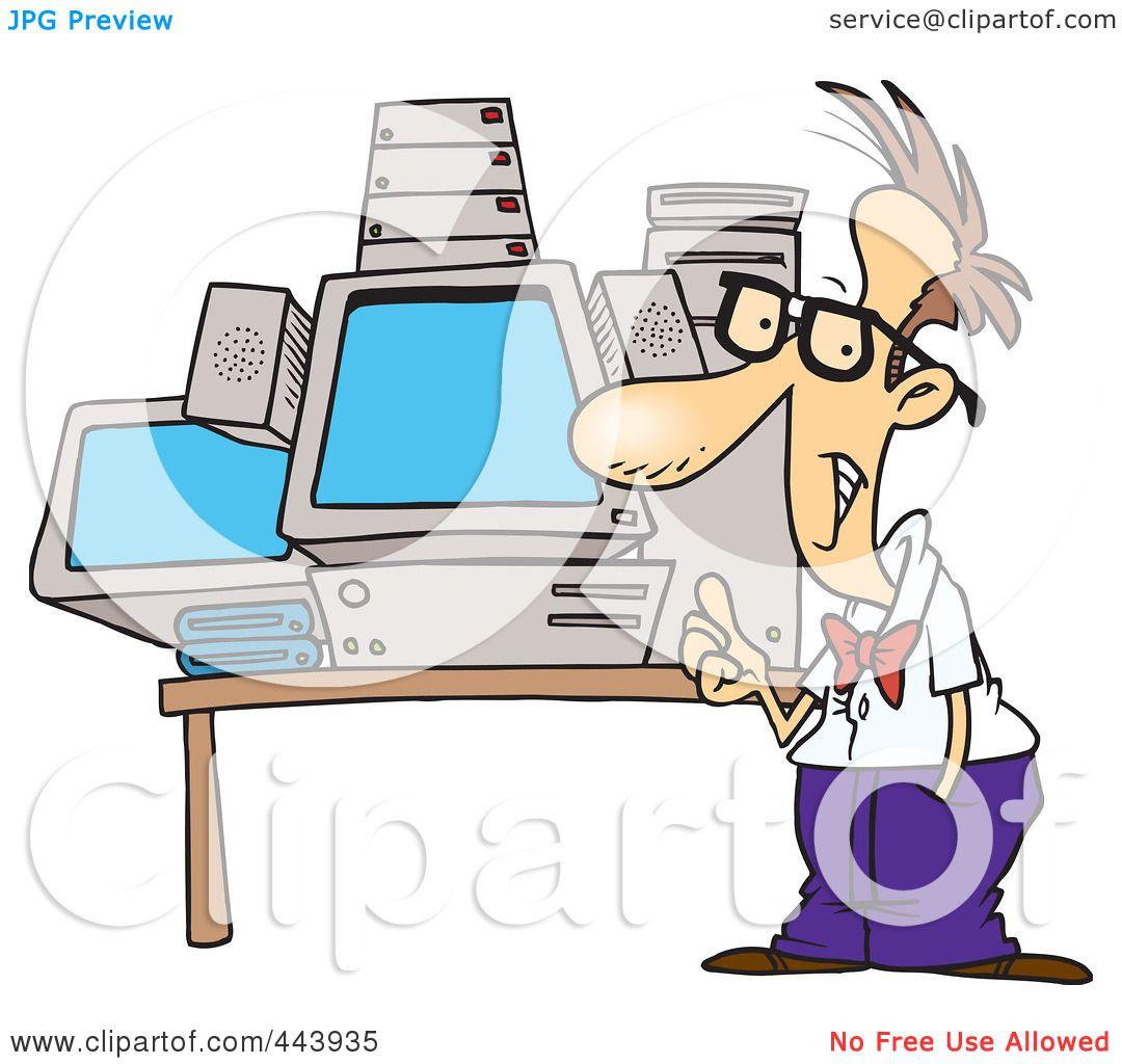 Computer Geek Clip Art