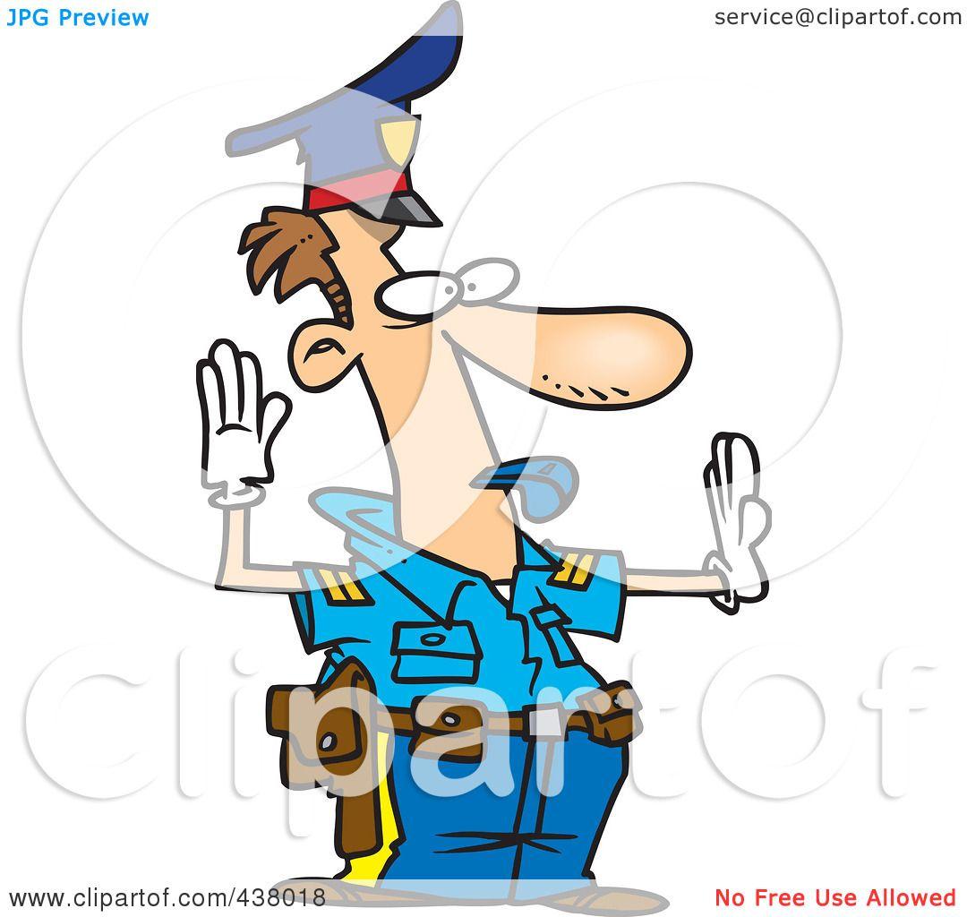 Cartoon Police Officer Clip Art