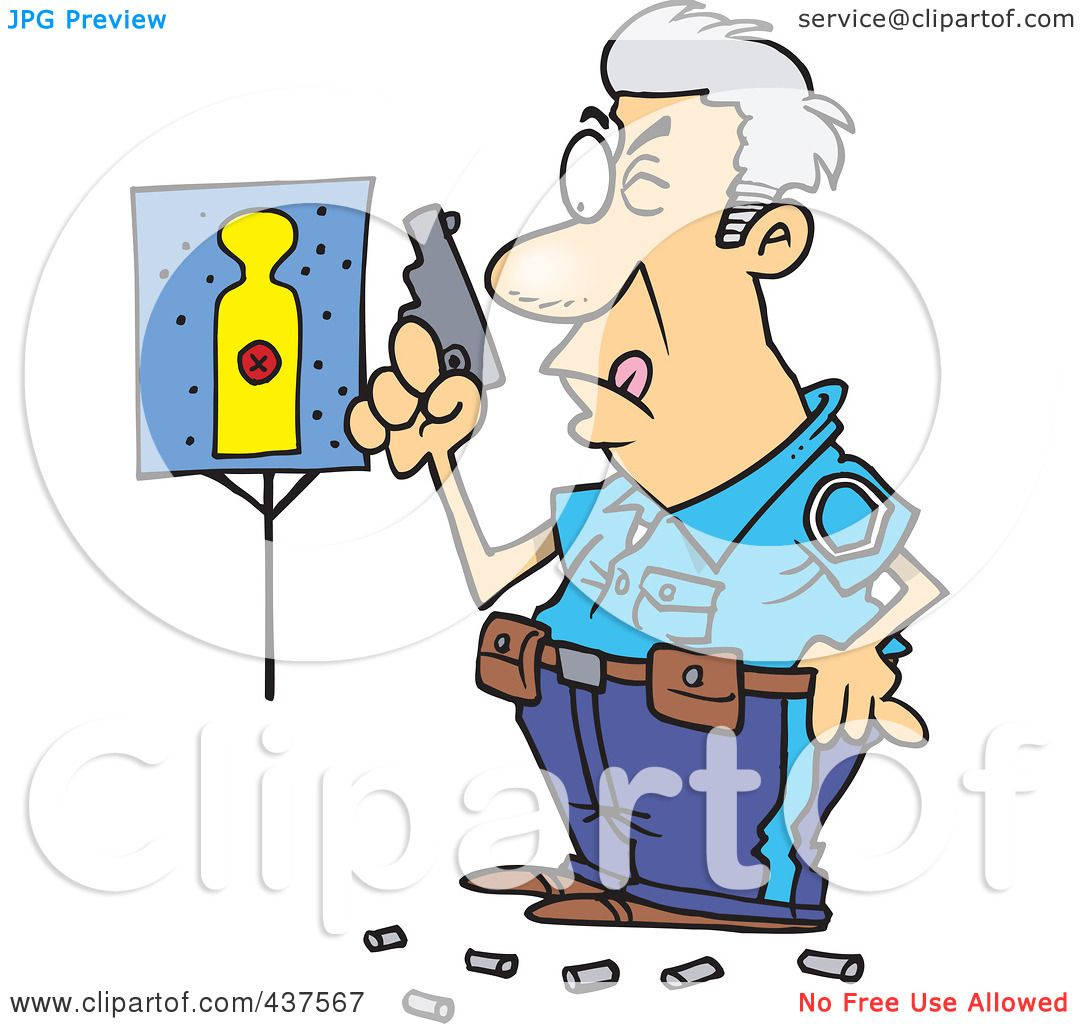Police Training Clip Art