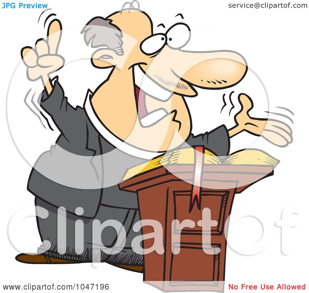 royalty free rf clip art illustration of a cartoon preaching rh clipartof com preacher clipart free preacher clipart free