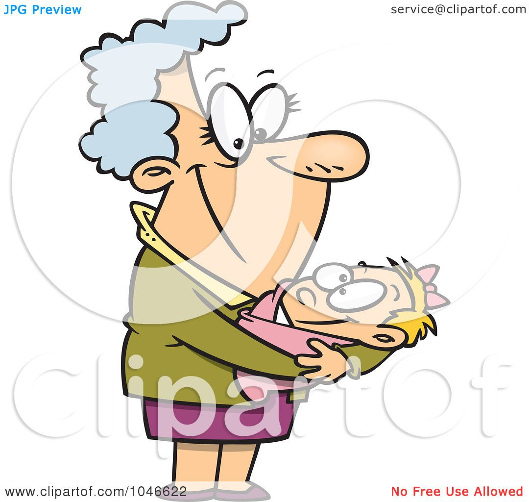 Royalty-Free (RF) Clip Art Illustration of a Cartoon Proud ...