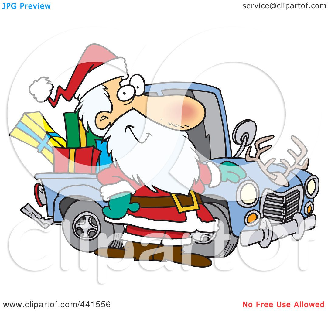 royalty free  rf  clip art illustration of a cartoon santa redneck clipart free black and white Free Old Grumpy