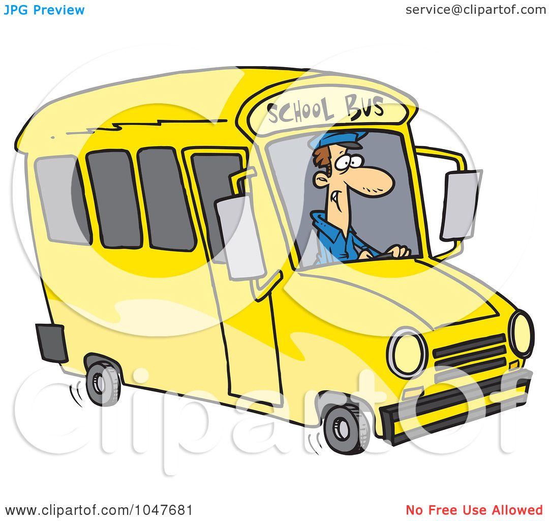 school bus driver clipart-#31