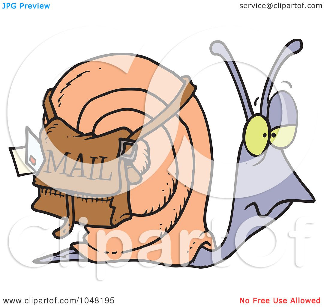 This is a photo of Striking Free Snail Mail