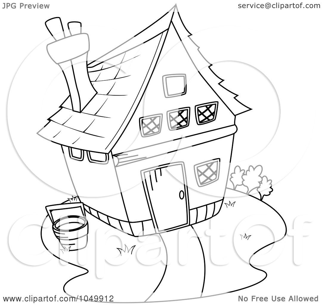 Free coloring page gingerbread house - Free Coloring Page Gingerbread House Plain Gingerbread House Coloring Page Chef Gingerbread Coloring Page