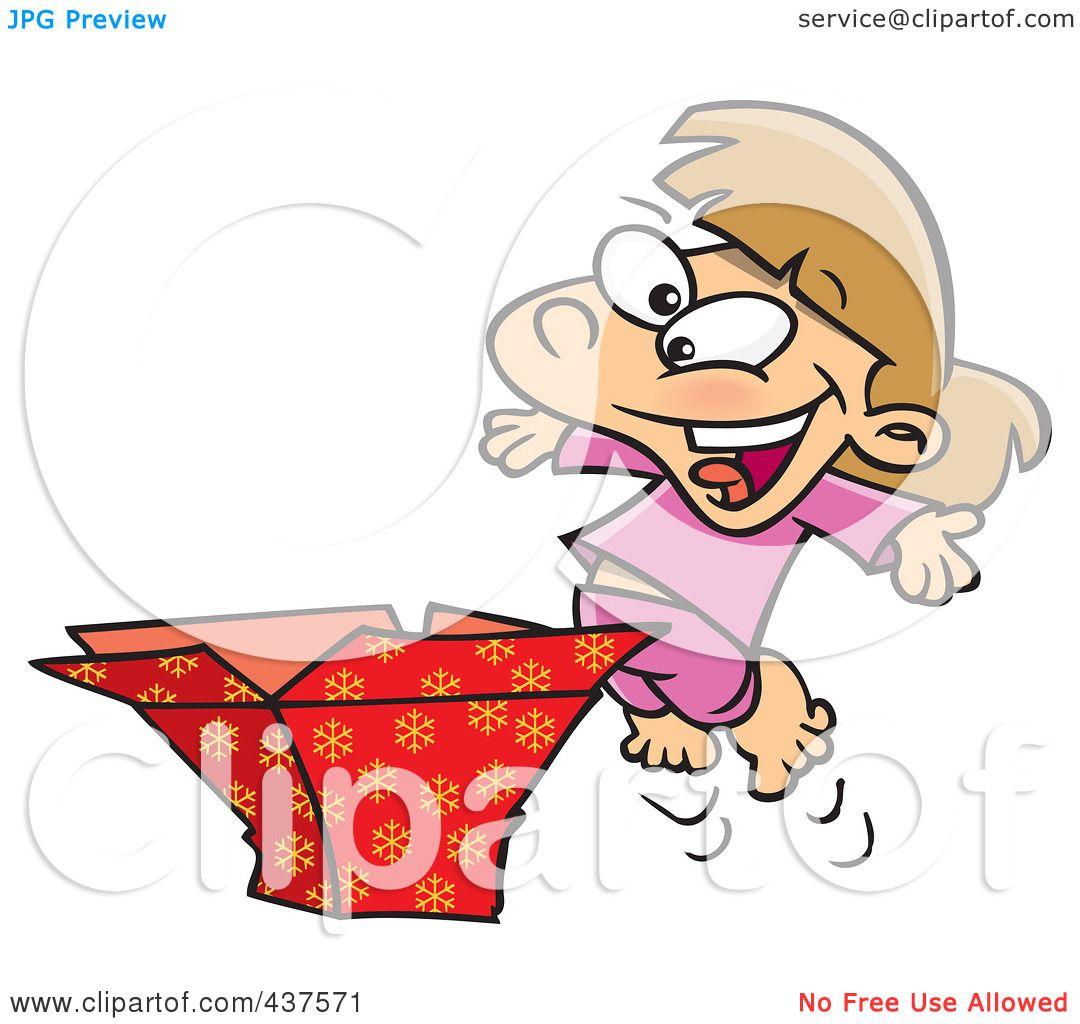 Royalty-Free (RF) Clip Art Illustration of a Happy Girl ...
