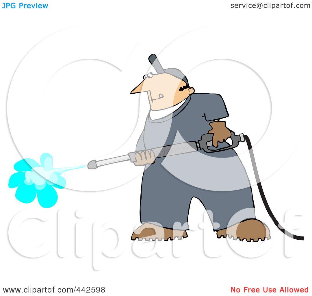 Royalty-Free (RF) Clip Art Illustration of a Pressure ...