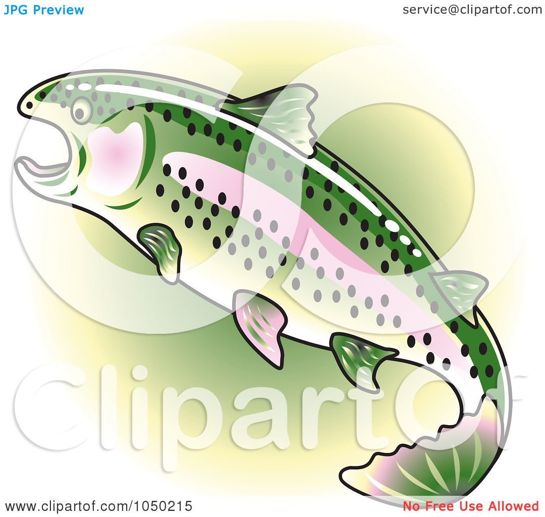 Rainbow Trout Clip Art Royalty-free (rf) clip art