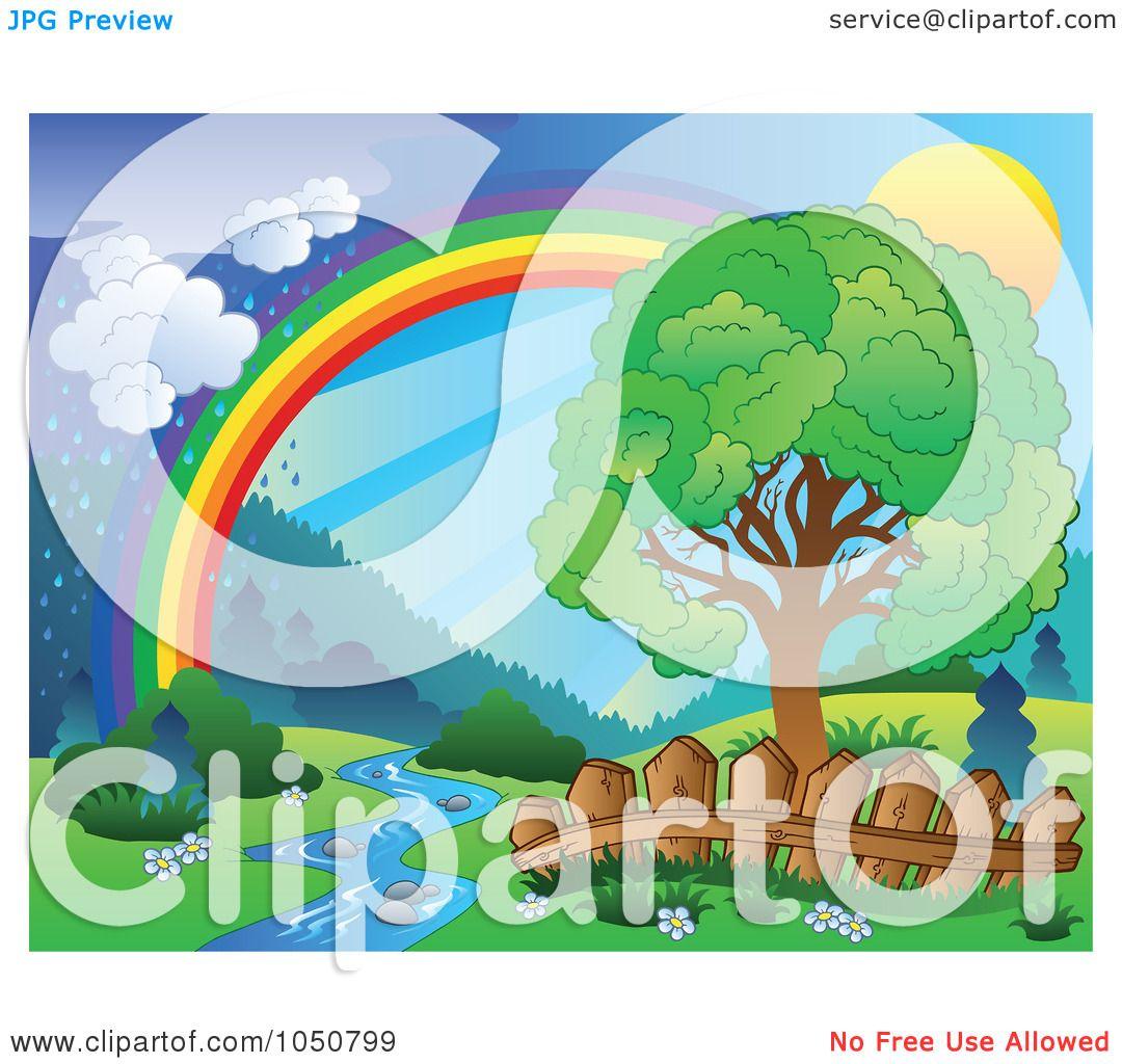 Royalty-Free (RF) Clip Art Illustration of a Spring ...